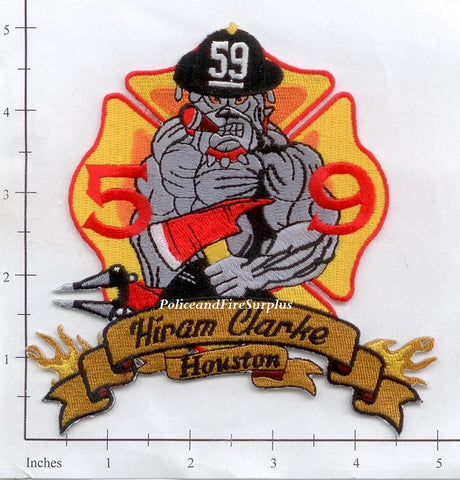 Texas - Houston Station  59 Fire Dept Patch