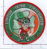 Great Britain - London Irish Firefighter Patch