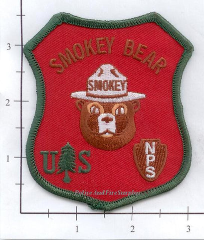 US Forest Service - Smokey the Bear Fire Dept Patch