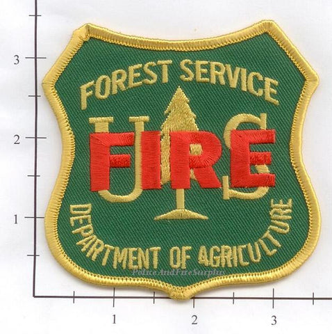 US Forest Service - FIRE - Fire Dept Patch