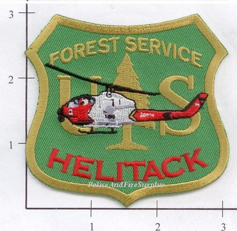 US Forest Service - Helitack - Fire Dept Patch