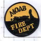 Utah - Moab Fire Dept Patch