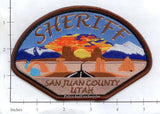 Utah - San Juan County Sheriff Dept Patch v1