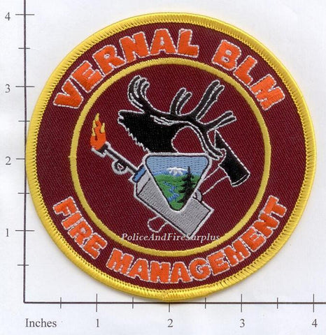 Utah - Vernal Bureau of Land Management - Fire Management Patch v1