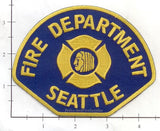 Washington - Seattle Fire Dept Patch