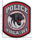 Wisconsin - Viola Police Dept Patch v1