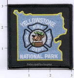 Wyoming - Yellowstone National Park Fire Dept Patch