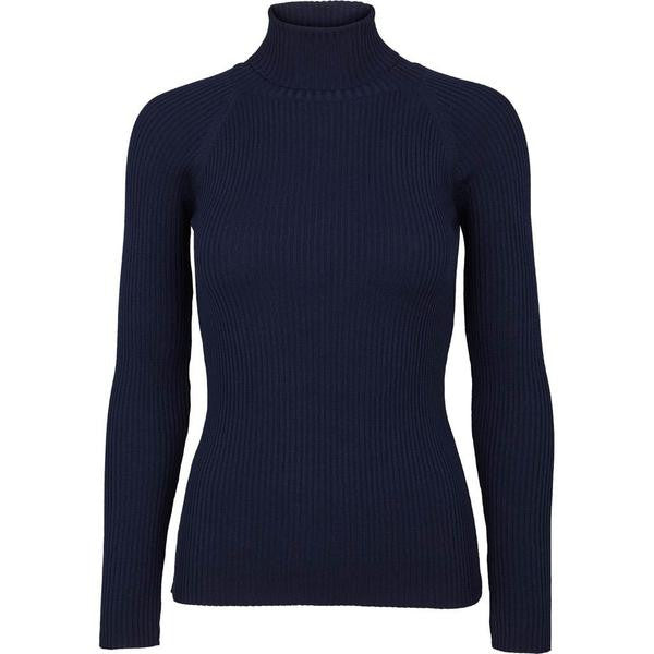 Navy basicapparel Turtle sweater