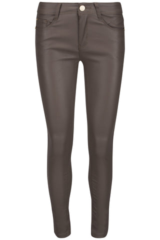 R-Display skinny pants taupe