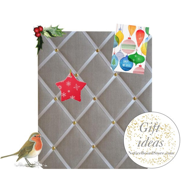 Christmas Gift Ideas Fabric Memo Board Free UK Delivery