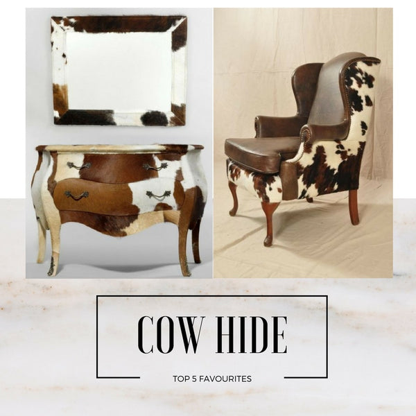 Top 5 Cow Print Inspired Furnishings - NoticeBoardStore.com