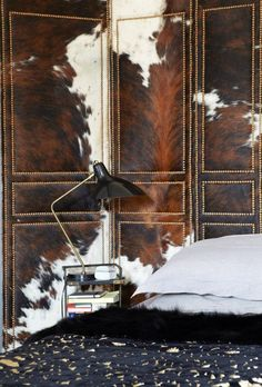 Cow Hide Privacy Screen - Top 5 Cow Hide Interior Decorating Ideas - NoticeBoardStore.com