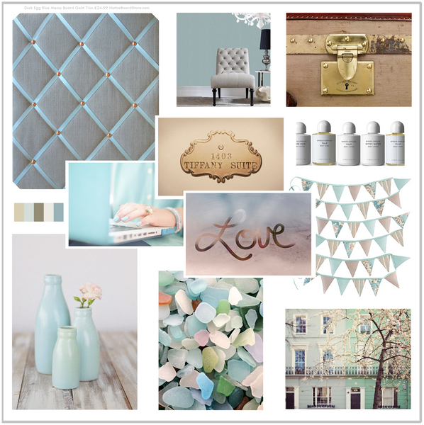Duck Egg Blue Stone & Grey Chalk Paint Colour Inspired Mood Board Interior Decorating Ideas
