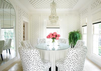 Dalmatian plush dining chairs interior trends top 5 NoticeBoardStore.com