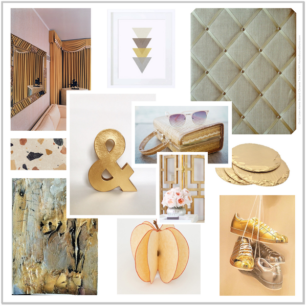 All That Glitters Add a little glamour to your office Metallics are Rockin the world of Interiors