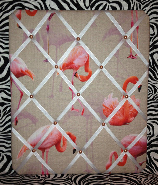 Fabulous Flamingo Memo Board