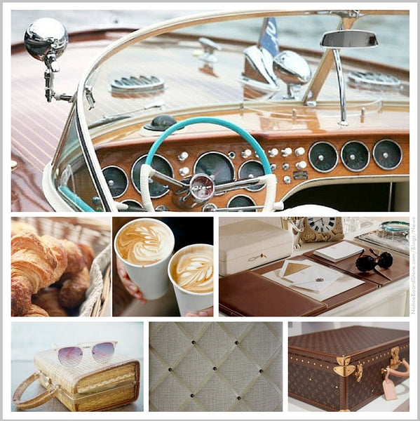 Monaco Weekend Monte Carlo Grand Prix Cote d'Azur Inspiration mood board