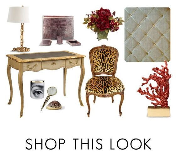 My Perfect Posh Gold Office - Shop The Look - Polyvore - catalina bond - NoticeBoardStore