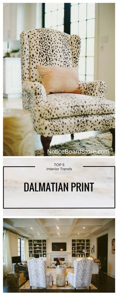 Dalmatian print inspired interior ideas Top 5 favourites NoticeBoardStore.com