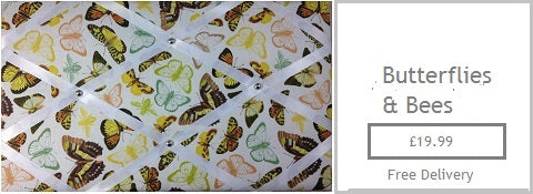 butterflies fabric memo board gifts for her mum mam sister girlfriend