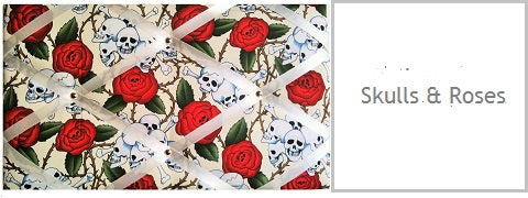 skulls roses gifts for her under £20 memo boards