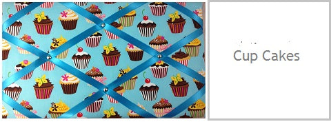 cupcakes gifts for her under £20 memo boards