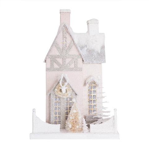 Pastel Bavarian Christmas House