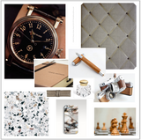 Gold & Bronze Mood Board Interior Decorating Colours Mens Gift Ideas