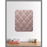 Teenage Girls Room Memo Board Organiser Blush Pink Velvet