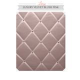Large Blush Pink Memo Message Notice Board pinboard