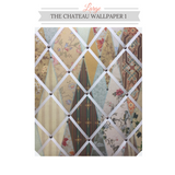 Wallpaper Museum Fabric Memo Board Message Board
