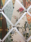 Close up Wallpaper Museum Fabric Notice Board
