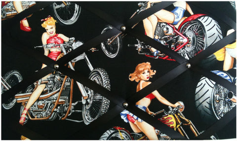 Biker Gals Memo Board - The Notice Board Store - 1