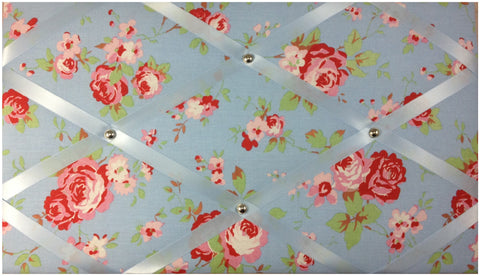 Cath Kidston Blue Notice Board - The Notice Board Store  - 1