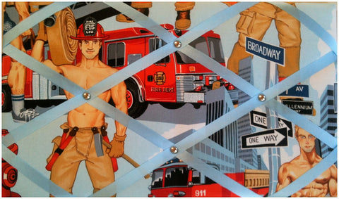 US Fireman Notice Board - The Notice Board Store  - 1