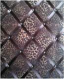 Leopard Animal Print Notice Board - The Notice Board Store  - 1