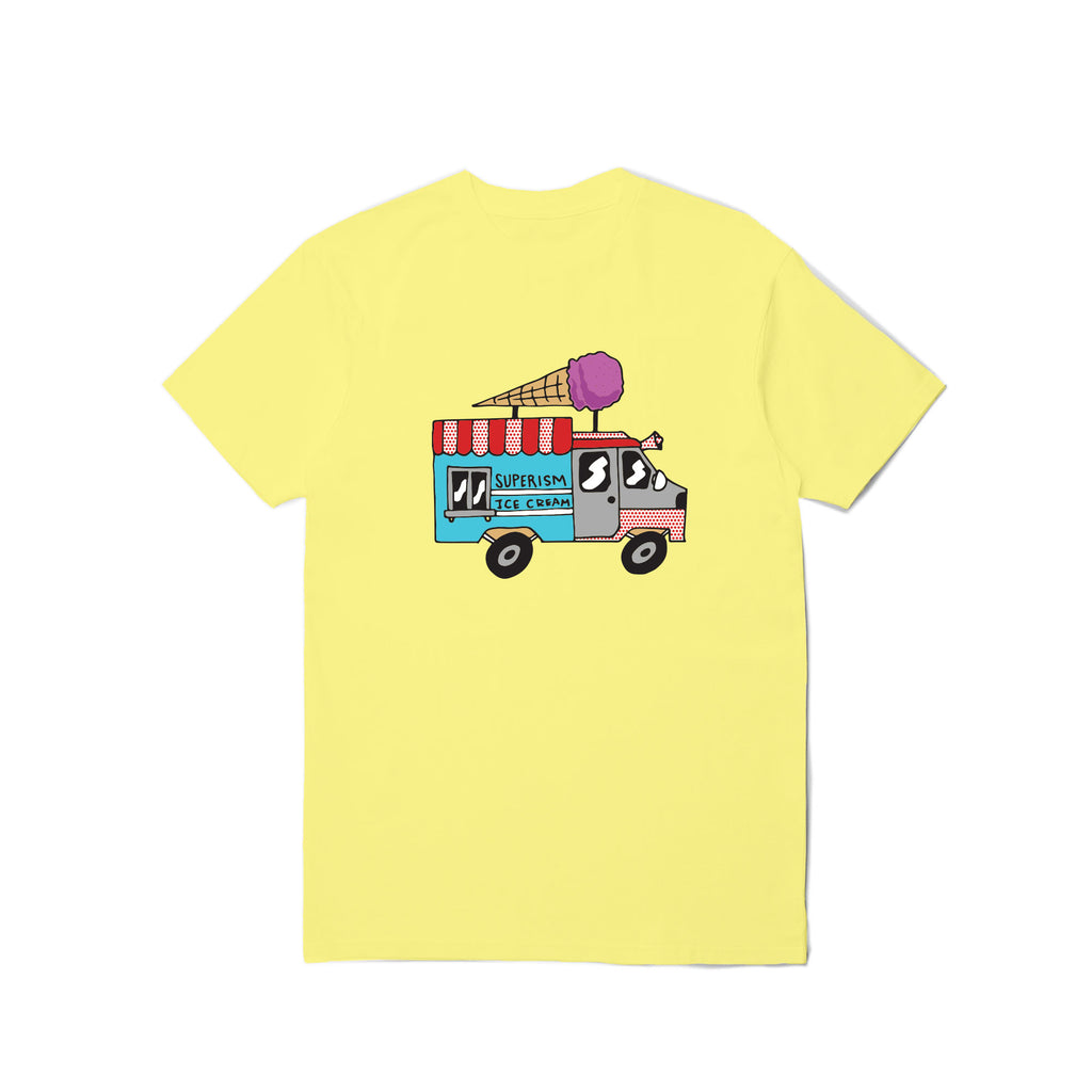 Ice Cream Truck - Yellow