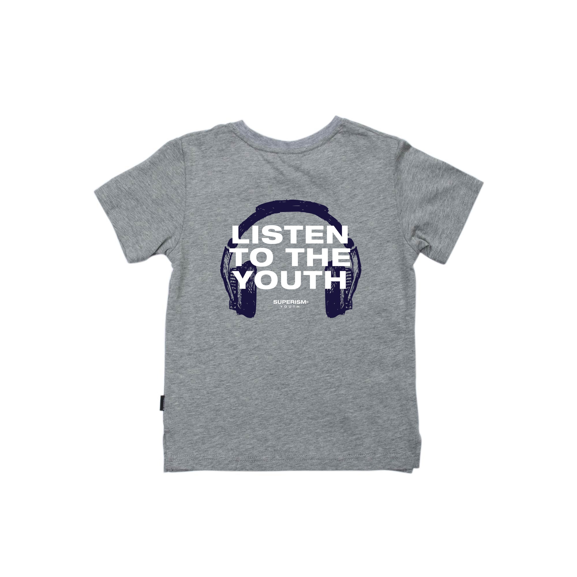 Listen to the Youth - Grey