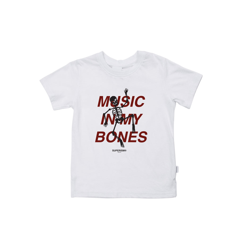 Music in my Bones - White