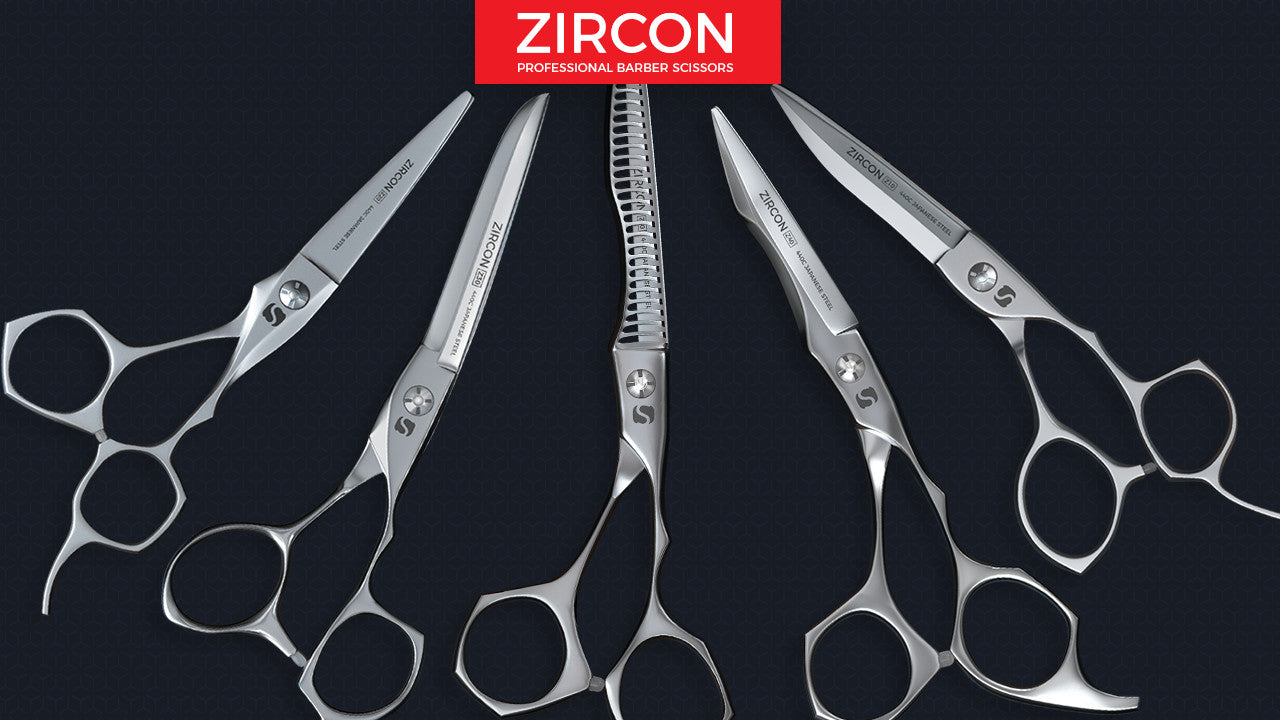 Zircon - Professional Barber Scissors