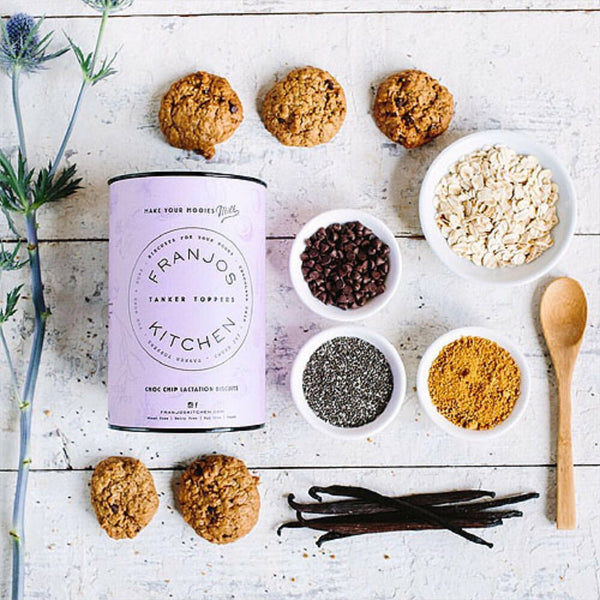 Choc Chip Cookies - all natural ready made cookies for breastfeeding mums and lactation support.