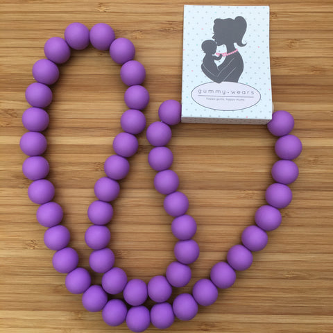 Beautyberry Mum Necklace