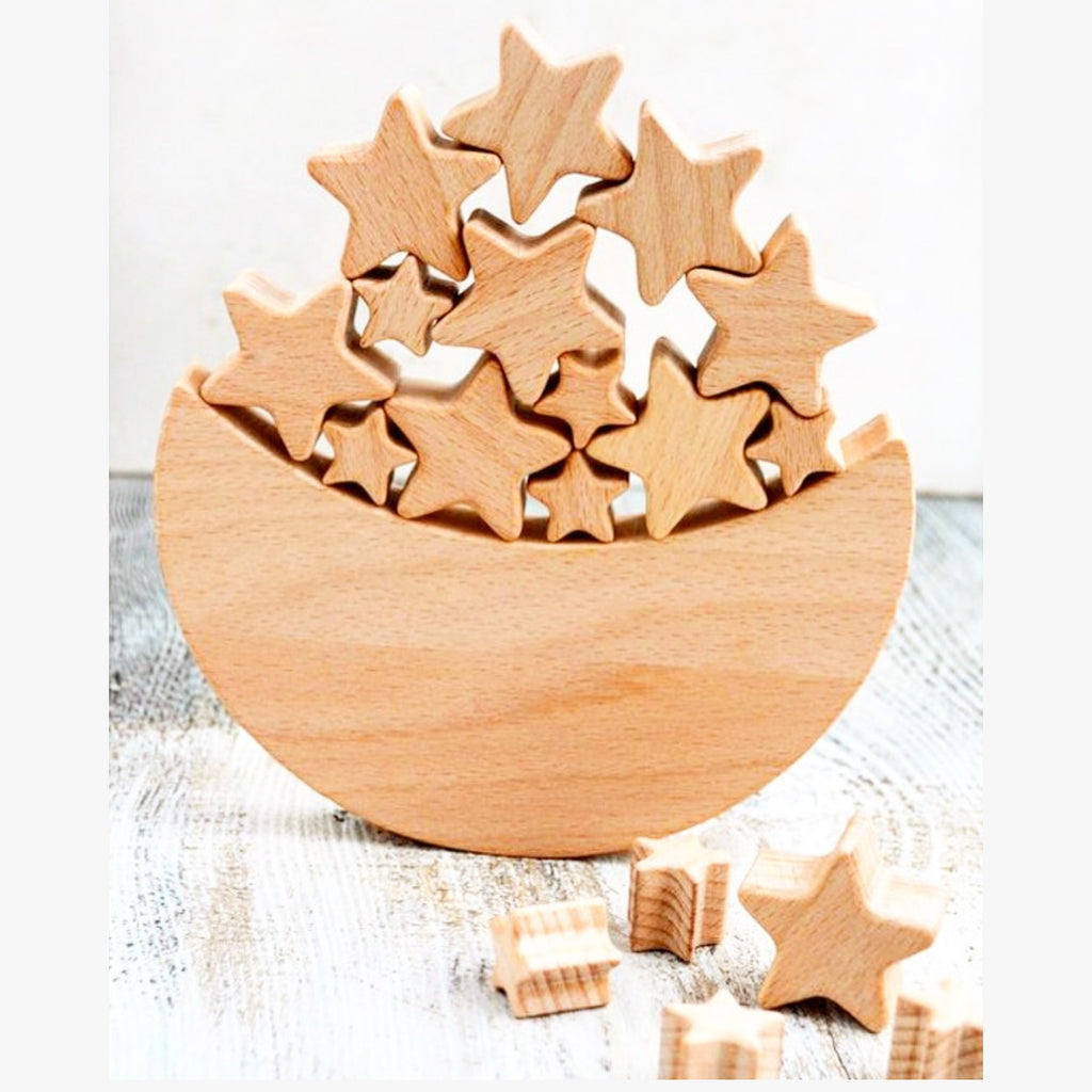 Star and Moon Wooden Toy.JPG