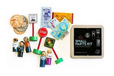 Make Me Iconic Small Parts Kit Accessories Kit | Tram or Ferry