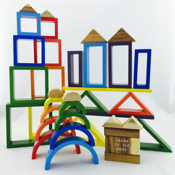 Rainbow Blocks - Q Toys - Rainbows stacked.jpeg