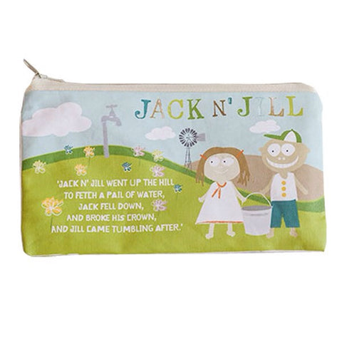 JACK N JILL OVERNIGHT BAG - MOOSE IN THE MOON