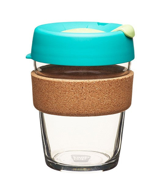 Keepcup keep cup glass cork brew original reusable 8oz 12oz 16oz