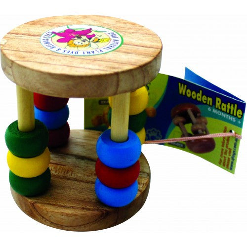Baby Rattle | Wooden Toy