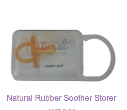 Natural Rubber Soother Storer