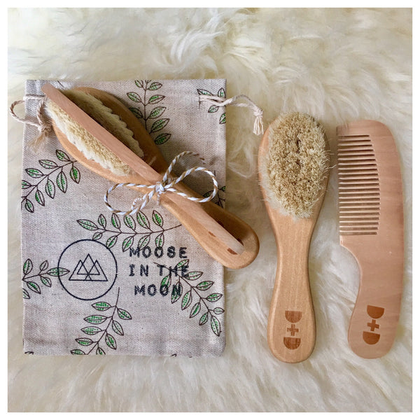 Wooden Baby Brush + Comb Set.JPG